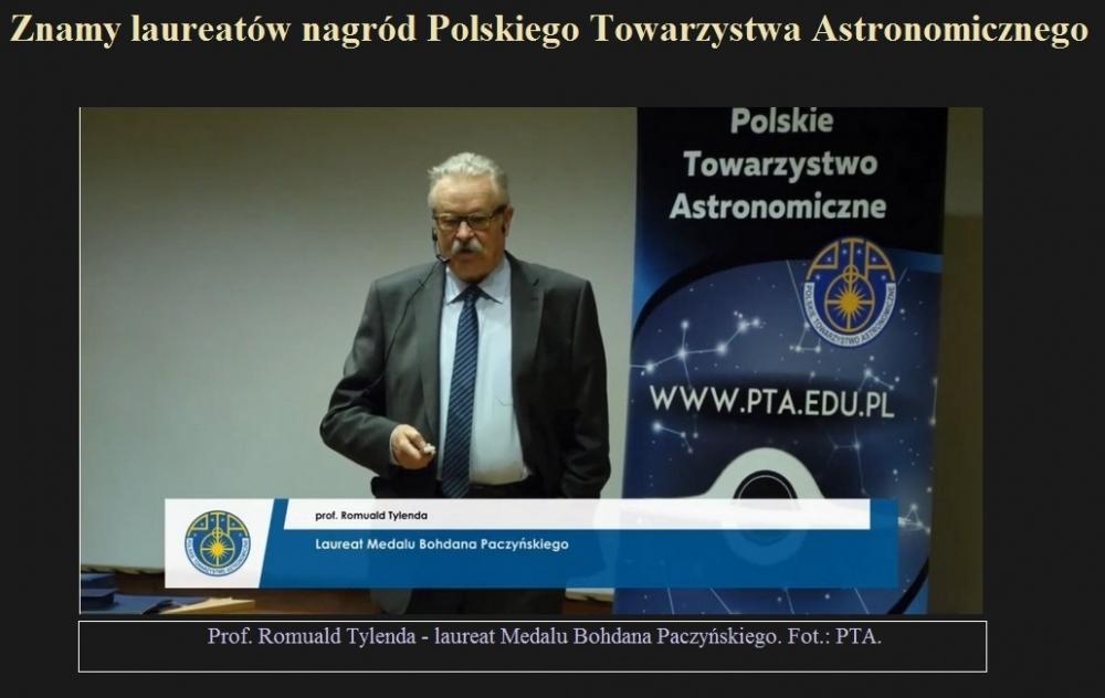 Znamy laureatów nagród Polskiego Towarzystwa Astronomicznego.jpg