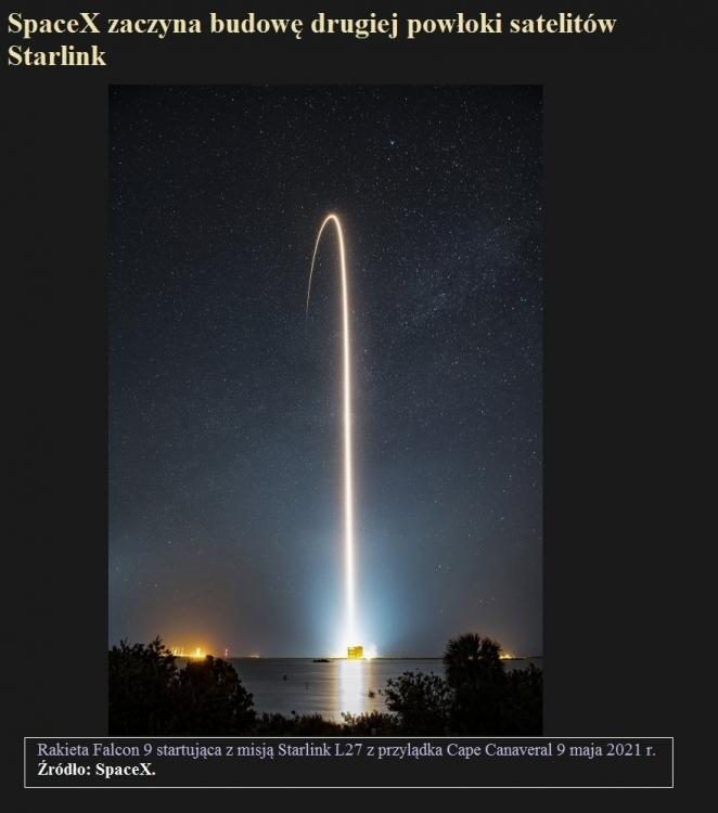 SpaceX zaczyna budowę drugiej powłoki satelitów Starlink.jpg