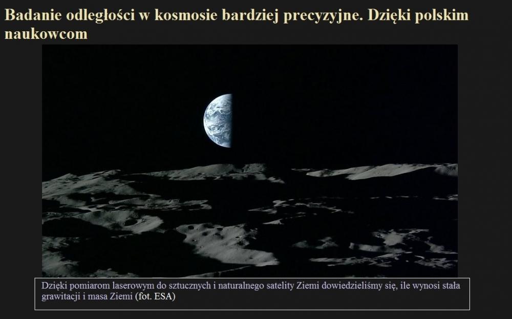 Badanie odległości w kosmosie bardziej precyzyjne. Dzięki polskim naukowcom.jpg